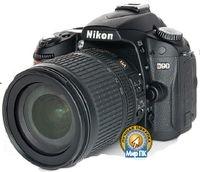 Цифровой зеркальный фотоаппарат Nikon D90— первый подобного типа, поддерживающий возможность видеосъемки