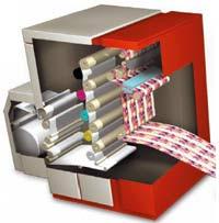 Печатные механизмы цифровой машины Xeikon
