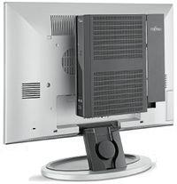 Системный блок можно прикрепить к задней стенке монитора