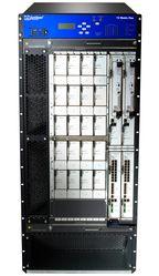 TX Matrix Plus позволяет связать до 16 базовых маршрутизаторов Juniper T1600 в единую систему суммарной производительностью 25 Тбит/с