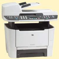 LaserJet 2727nf MFP: принтер, сканер, копир, факс и даже степлер в одном корпусе