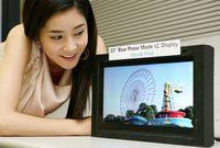 Samsung планирует начать массовое производство жидкокристаллических панелей Blue Phase в 2011 году