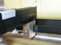 Рис. 4. Нанесение позиционного кода струйным принтером