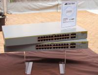 Всемейство 8000GS входят две модели, рассчитанные на 24 порта, иодна модель на 48 портов