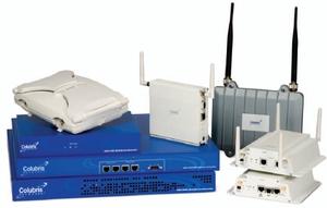 Colubris имеет хорошие позиции на рынке оборудования для точек доступа к беспроводным сетям в ряде вертикальных рынков