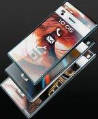 образец тонкого телефона P-Per выглядит так, словно кто-то соединил два экземпляра iPhone между собой
