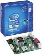для первого поколения неттопов типовой является конфигурация, включающая в себя «три кита» от Intel — процессор atom 230, чипсет d945GC и материнскую плату d945GClF