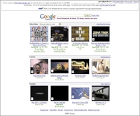 Внешний интерфейс Google Video for Business напоминает интерфейс сервиса Google Video идругих сайтов, предназначенных для совместного использования видео. На странице размещены поле для задания поискового запроса, список видеофрагментов, доступных для просмотра свашей учетной записью, атакже механизм, позволяющий вам загружать на сайт свое собственное видео
