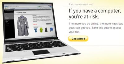 Инструментарий Norton Online Risk Calculator определит вашу