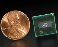 Процессор Silverthorne будет изготавливаться по 45-нанометровой технологии. Он основан на микроархитектуре спониженным энергопотреблением иполностью совместим по набору команд сархитектурой Intel Merom