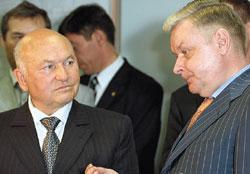 Юрий Лужков остался доволен системой, представленной Константином Ромодановским