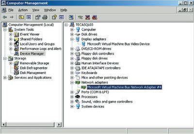 Экран 3. Проверка используемых драйверов сетевых устройств