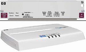 Рисунок 3. При помощи модуля ProCurve 5300xl Wireless Edge Services и точки беспроводного доступа ProCurve Access Point 530 компания HP обеспечивает общее управление кабельными и беспроводными сетями.