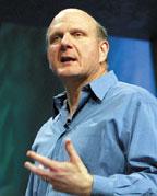 По словам генерального директора Microsoft Стива Балмера, особую роль в формировании платформы, интегрирующей возможности офисных приложений и систем управления бизнесом, должны сыграть технологии SharePoint