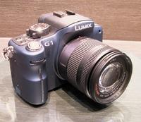 Lumix DMC-G1 займет промежуточную позицию между компактными автоматическими моделями иболее крупными SLR-камерами