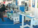 Стенд Focus Label Machinery. В состав машины Reflex могут включаться турельные системы намотки с автономным приводом