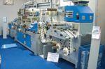 Стенд Cartes Equipment. Машина HS 352HH c модулем нанесения голограмм оснащается системой микронной приводки с оптическим датчиком для считывания ранее нанесённых меток