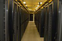 В основном зале центра обработки данных
