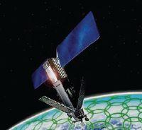 Низкоорбитальная группировка Iridium насчитывает 66 спутников, расположенных на орбитах высотой 780 км