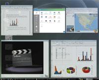 По своему графическому пользовательскому интерфейсу редакция Linux XP Home Edition максимально приближена кWindows Vista