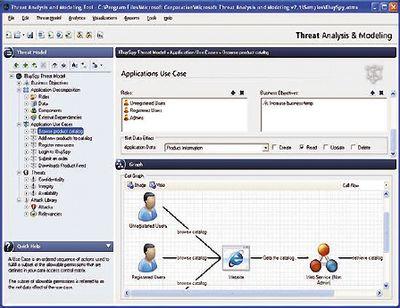 Microsoft SDL Threat Modeling Tool 3.0 представляет собой аналитическое средство, позволяющее на раннем этапе проводить структурный анализ проекта, атакже выявлять потенциальные недочеты, связанные собеспечением безопасности иконфиденциальности