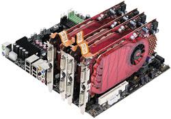 Компания Gigabyte одной из первых выпустила системные платы на новых чипсетах AMD ивидеокарты на новых графических процессорах. На чипсете AMD 770 основана бюджетная системная плата GA-MA770-DS3, на AMD 790X— GA-MA790X-DS4, на AMD 790FX— GA-MA790FX-DS5 иGA-MA790FX-DQ6