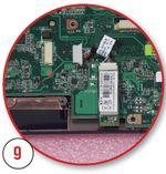 Подсоединяем кабель Bluetooth-модуля и закрепляем его двусторонним скотчем