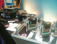 HP— №1в поставке термоструйных печатающих головок для спецприложений: отвысокопроизводительных систем маркировки доустройств тиражирования дисков