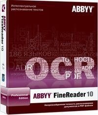 В отличие от большинства существующих OCR-программ ABBYY FineReader 10 умеет распознавать документ на уровне его структуры