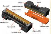 Схема печатающей головки