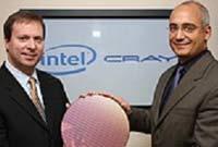 Генеральный менеджер группы серверных платформ Intel Кирк Скауген и президент Cray Питер Унгаро объявляют о начале совместного проекта