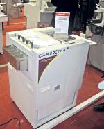 Макс. формат заготовки у Morgana CardXtra 320в470 мм, производительность до 7 лист./мин