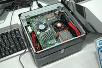 Видеоплата Leadtek Winfast PxVC 1100 с интерфейсом PCI Express и высокопроизводительной памятью XDR легко помещается в небольшом корпусе настольного компьютера