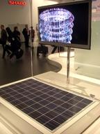 Компания Sharp продемонстрировала экологически чистый телевизор