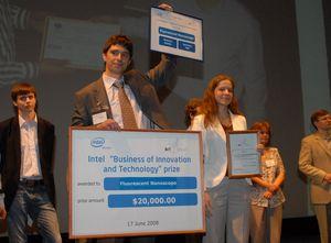 Победитель финала конкурса БИТ-2008, компания