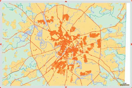Зона покрытия  в Москве одной из крупнейших в Европе Wi-Fi-сетей
