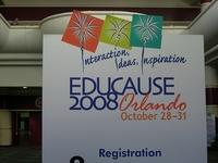 По мнению участников конференции Educause 2008, первоочередной мерой по популяризации электронного обучения является формирование сообщества специалистов, которые хорошо понимали бы суть образования в цифровом мире
