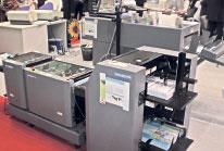 Брошюровальная линия Duplo System 2000 Digital на стенде DigiTech.