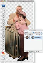 Рис. 2. Обтравку изображения можно выполнить несколькими способами, но поскольку в даль-нейшем придется обрабатывать полученное изображение, то нас интересует самый простой и быстрый метод