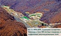 Из 12,2 млрд долл., выделяемых на подготовку Олимпиады в Сочи, 580 млн будут направлены на модернизацию телекоммуникационных сетей