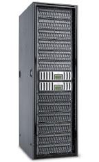 Рисунок 1. При благоприятных условиях одна современная система (здесь модель FAS3029 от NetApp) может заменить значительное количество более старых устройств.