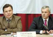 Сергей Гирдин иПетр Белаш настаивают, что «Марвел» действительно объединилась с«Эримекс», ане поглотила ее