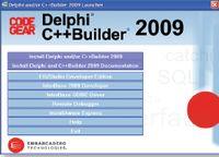 CodeGear RAD Studio 2009: начало установки