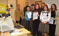 """23 января 2008 г. Первый выпуск авторизованных курсов Quark в УЦ """"Специалист"""""""
