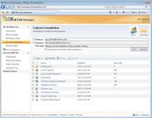 Workspace— первая итерация стратегии Microsoft вобласти программного обеспечения, продаваемого как услуги. Целью стратегии является объединение ее программных продуктов исетевых сервисов