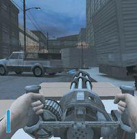 В игре есть даже мощный станковый пулемет с бесконечным боезапасом