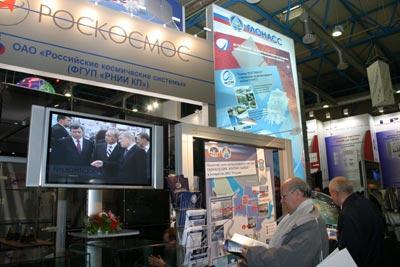 Центральное место нынешней выставки «Связь-Экспоком» заняла экспозиция системы ГЛОНАСС