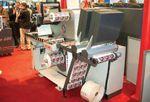 Стенд BST International. Узкорулонная система 100-процентной инспекции полотна Shark 4000 LEX оснащается камерой с разрешением 7000 пикселей