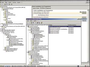 Рисунок 1. Групповые директивы (представлены директивы паролей в редакторе GPO) позволяют производить всестороннее конфигурирование систем и приложений Windows.