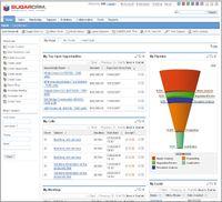 В корпоративной версии пакета SugarCRM Data Center Edition реализованы функции настройки иуправления копиями приложения для разных бизнес-подразделений